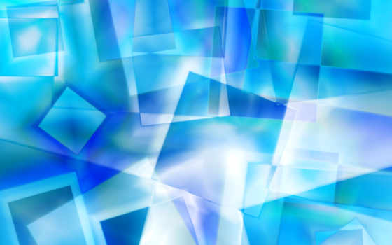 squares, abstract, icy, fantasy, crystal,