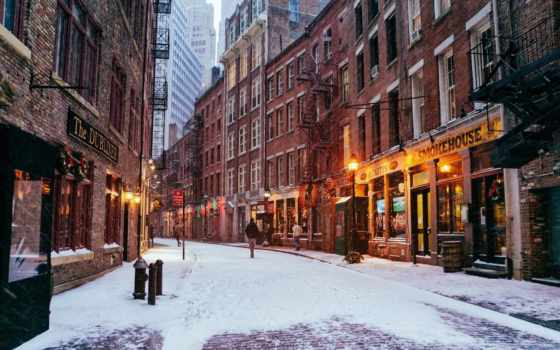 улица, york, new