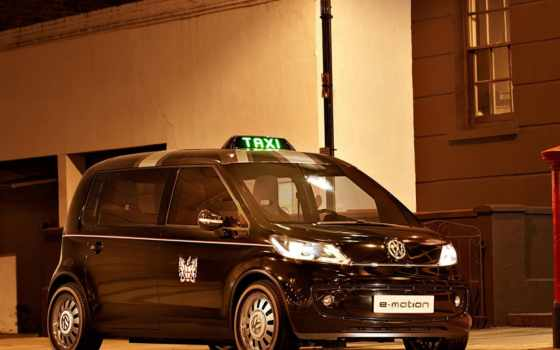 volkswagen, taxi, concept, london, vw, ев, car, carriage,
