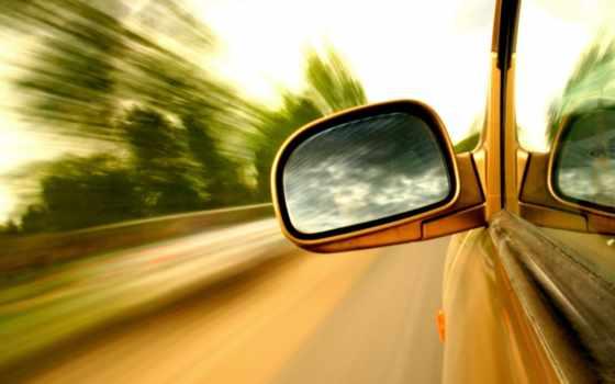 автомобиля, зеркало, car