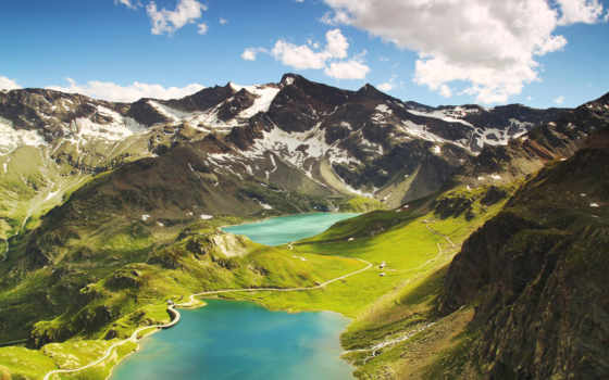 agnel, реале, озеро, ceresole, lago, serrù, mountains, горные,