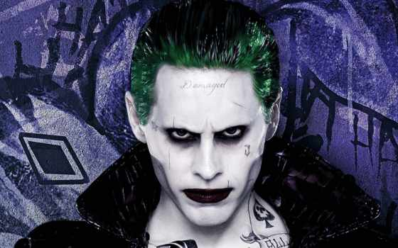 squad, suicide, joker, jared, июл, leto, die, der, ign,