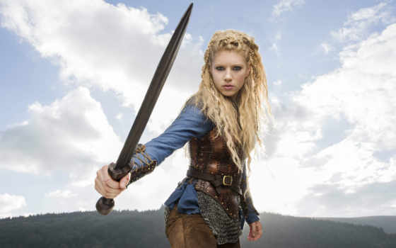 katheryn, winnick, vikings, season, lagertha, promos,
