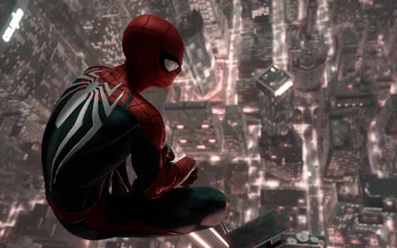 game, паук, мужчина, human, spiderman, прохождение, new