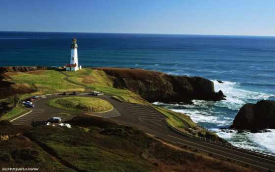 ,, побережье, море, мыс, мыс, маяк, океан, вышка, берег, плащ, полуостров,