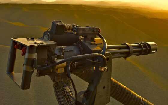 оружие, пулемет