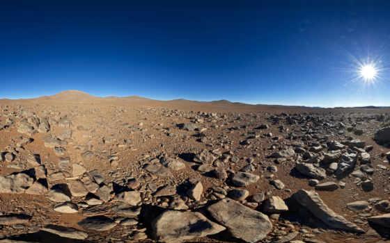 пустыня, скалы, песок