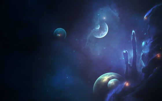 cosmos, планеты, звезды Фон № 103528 разрешение 1920x1080