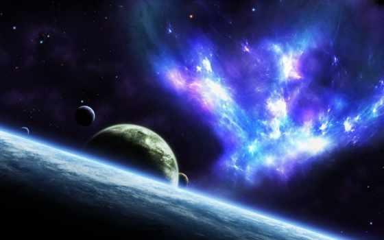 планеты, galaxy, звезды