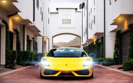 lamborghini, ламборджини, gallardo, superleggera, yellow, ламборгини,