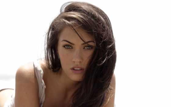 глаз, color, волос, макияж, серых, свет, меган, фокс, узких,