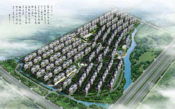 architecture, garden, architectural, landscape, rendering, design, взгляд, aerial, город, building,