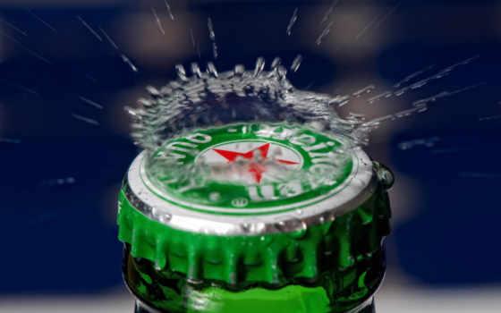 heineken, pantalla, fondos, пиво, fondo, favourite, бутылка, cerveza, макро,