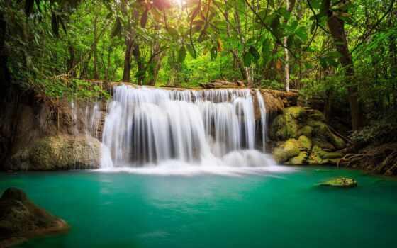 водопад, rainforest, природа, коллекция, ocenka, elena, nastwow