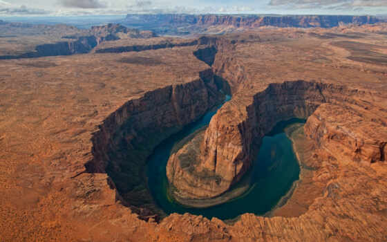 каньон, colorado, река, гранд, сша, изгиб, arizona, подкова, коллекция