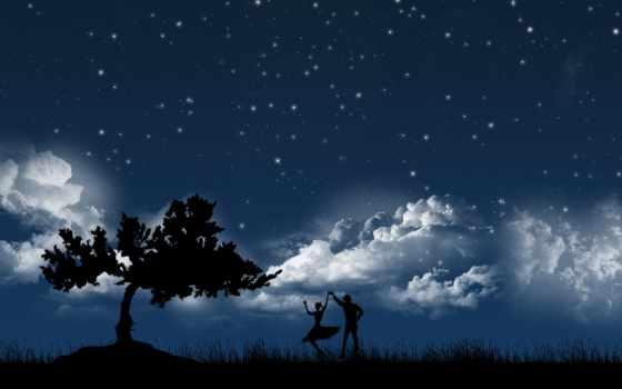 пара, stars, love