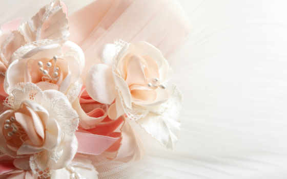 цветы, flowers, свадебный, fone, белом, фон, шелк, stock, white, photos, vectors,