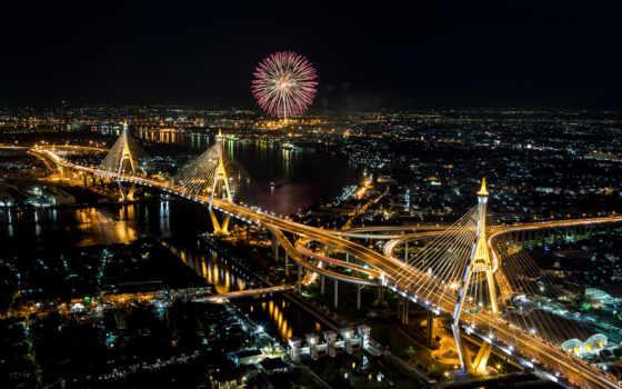 bangkok, ночь, изображение, таиланд, free, photos, shutterstock, cities, stock, houses,
