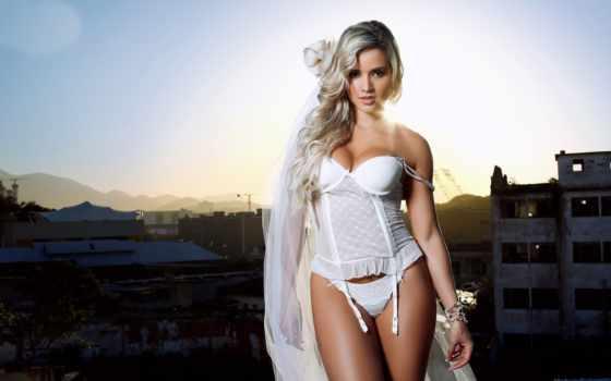 штайнкопф, модель, ariana, бразильская, откровенные, армией, формами, любит, поклонников, целой,