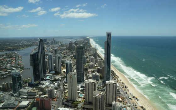 gold, побережье, австралия,