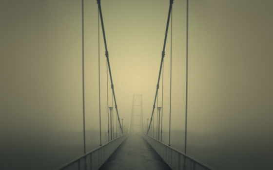 одиночка, туман, дорога