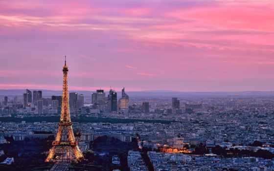 париж, франция, башня Фон № 82685 разрешение 2048x1217