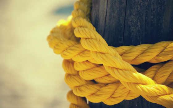 веревка, yellow, нитки, пост,