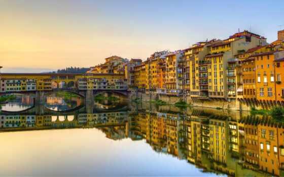 мост, ponte, firenze, pont, florence, italy, italian