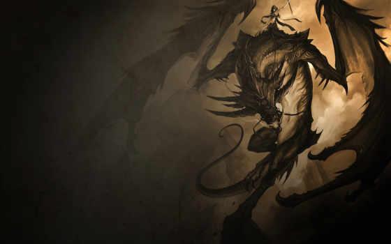 dragon, fantasy Фон № 7225 разрешение 1600x1200