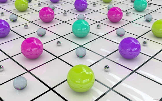 шары, галерея