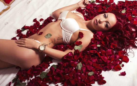 sexy, фото, love, женщина, red, волосы, lingerie, цена, волос, роза
