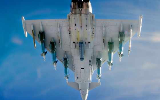 eurofighter, typhoon, самолёт, weed, истребитель, miscellaneous, evrofaiter