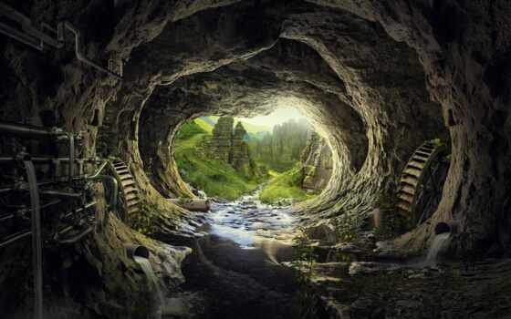 туннель, heaven, качество, ma-ara, duvar, природа, earth, пещера