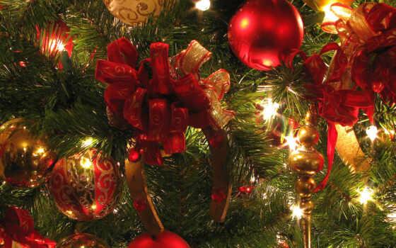 christmas, елка, игрушки, год, новый, зелёный, огоньки, красный, ipad, шары, подкова, елочные, украшение,