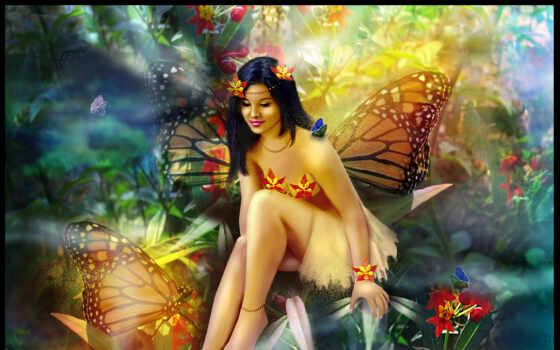 фантасмагория, art, digital, fairy, butterfly, tags, девушки, fantasy, фэнтези, picture, similar, феи, next, бабочки, desktop, правой, ladybutterfly, ней, скачивания, разрешением, мыши, кнопкой, save,