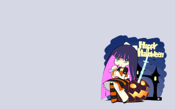 panty, stocking, garterbelt, with, halloween,