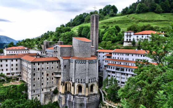 country, храм, basque, басков, испания, sanctuary, arantzazu, lady, onati,