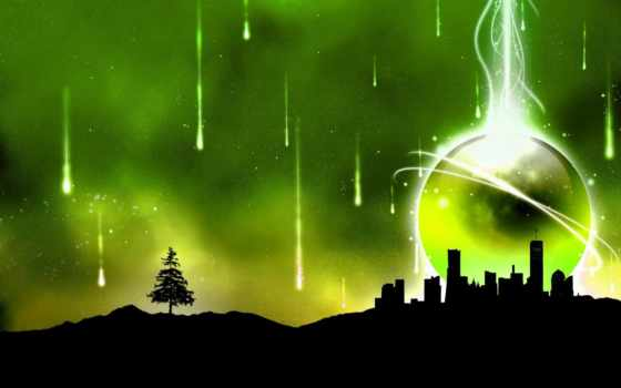 зелёный, природа, об, pin, коллекция, лес, abstract,
