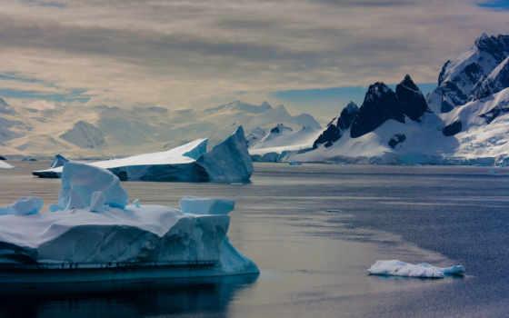 земли, кондиционер, антарктида, ледниками, this, планеты, iceberg, континент, кондиционером, покрыт, melting,