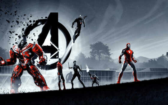 эндшпиль, avenger, плакат, finale, сниматься, marvel