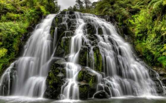 owharoa, falls, ущелье, karangahake, водопад, landscape, photos, интересно, waikino,