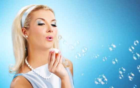 пузыри, мыльные, девушка, пускает, разных, разрешениях, devushki, дуэт,