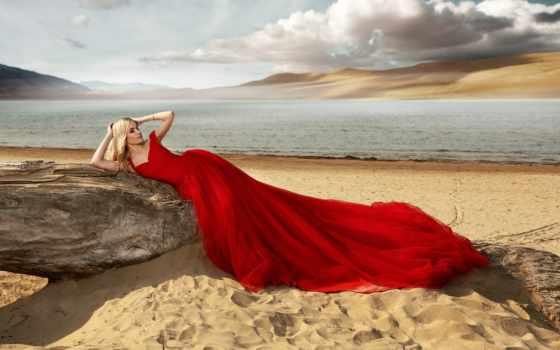 платье, красное, девушка, море, поза, коллекциях, яndex, красном, фотосессии, followers, subscribe,