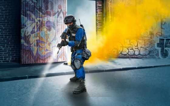 swat, офицерский, revell, kit, модель, картинка, живопись, usa,