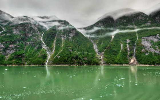 fjord, аляска, tracy, arm, природа, water, images, desktop,