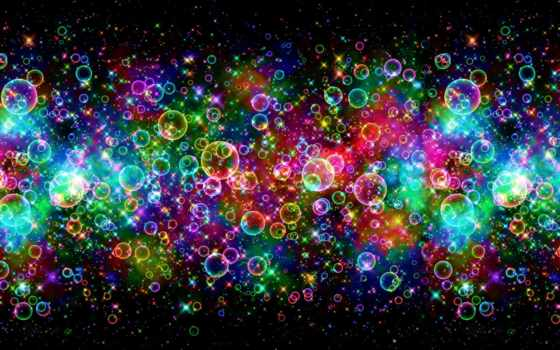 bubbles, background, colorful