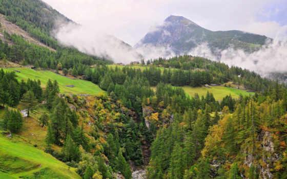 горы, пейзажи -, качестве