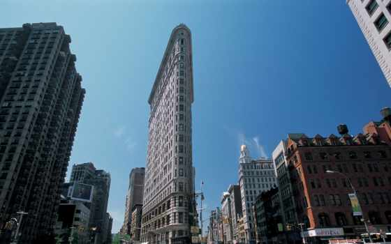 нью, york, new, building, империя, state, сша, город, manhattan,