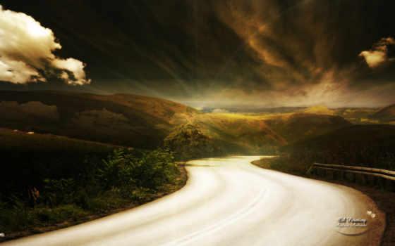 wonderful, небо, lands, природа, landscap, land, гора, free,