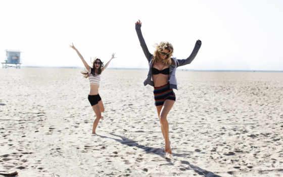 пляж, улыбка, goodfon, теме, képek, nagyvilágból, widescreen,
